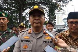 Polres Sukabumi Kota patroli skala besar untuk antisipasi gangguan keamanan