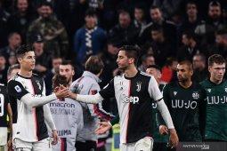 Hasil pertandingan dan klasemen sementara Liga Italia