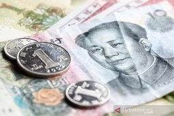 Yuan turun 22 basis poin jadi 7,0405 terhadap dolar AS