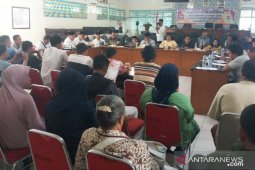 DPRD perintahkan Pemkot Tanjungbalai hentikan pembangunan meja Pasar Bahagia