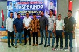 Aklamasi, Bode Tanjung pimpin Aspekindo Mandailing Natal