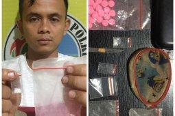 Polisi Binjai tangkap kuli bangunan miliki sabu dan pil ekstasi