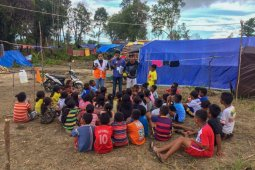GMRT layani korban pascagempa di Maluku