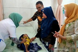 Hanif penderita gizi buruk dapat perhatian dari Pemkot Padangsidimpuan