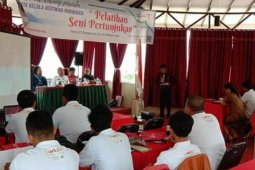 Dinas Pariwisata Samosir gelar pelatihan seni pertunjukan