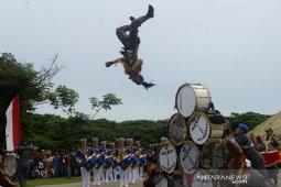 Atraksi Drumband Sumpah Pemuda Aceh