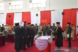 Pimpinan DPRD Kota Padangsidimpuan resmi dilantik