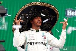Hamilton juara Grand Prix di Meksiko