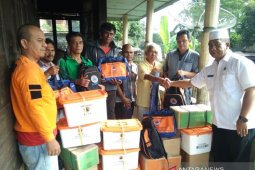 BPBD Tapanuli Selatan salurkan bantuan pada korban kebakaran Angkola Barat