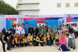 Pelajar Indonesia meriahkan Festival Kebudayaan Internasional di Wuhan