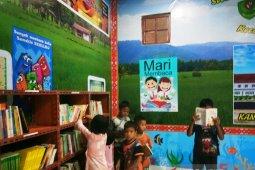 Desa Pasir Matogu Tapsel dorong masyarakatnya gemar membaca