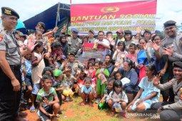 Polda Maluku kembali salurkan bantuan sosial untuk korban gempa