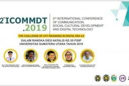 Magister Ilmu Komunikasi FISIP USU gelar Konferensi Internasional 2nd ICOMMDT 2019