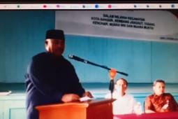 Deklarasi Damai Pemilihan Kepala Desa (Pilkades) Serentak 2019 Kukar