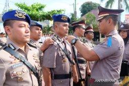 Kapolres Tanjungbalai pimpin upacara sertijab empat PJU