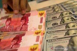 Rupiah akhir pekan masih bertahan di bawah Rp14.000 per dolar