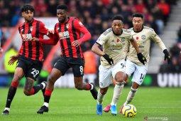 Hasil Liga Inggris, Bournemouth tumbangkan Manchester United 1-0
