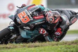 Quartararo kunci pole position GP Malaysia, Marquez terjatuh