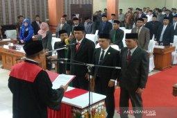 Pimpinan defenitif DPRK Aceh Tengah dilantik