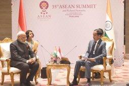 PM Modi apresiasi inisiatif Indonesia atas outlook ASEAN