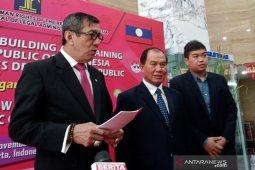 Saat bertemu Menteri Kehakiman Laos, Yasonna minta WNI tak dihukum mati