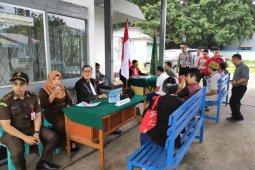 47 pelanggar pada Operasi Zebra Kapuas di Singkawang ikuti sidang di tempat