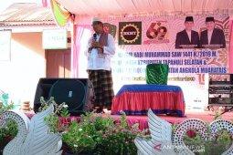 Angkola Muara Tais tuan rumah safari Maulid Nabi Muhammad SAW