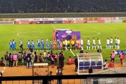 Persib unggul 1-0 lawan PSIS di babak pertama