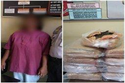 Disergap di warung, 9 Kg ganja kering di Sipange berhasil diamankan