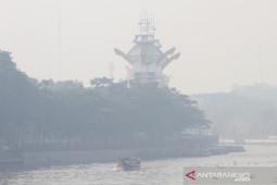 Kabut Asap Kembali Selimuti Kota Banjarmasin