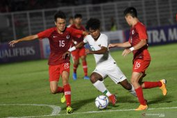 Timnas U-19 Indonesia memimpin klasemen dan 'top scorer' Grup K