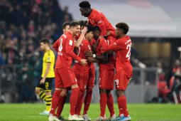 Liga Jerman, Bayern pukul Dortmund empat gol tanpa balas pada Der Klassiker