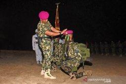 Ratusan prajurit TNI AL diresmikan sebagai anggota Marinir