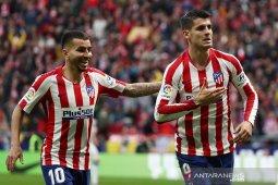 Atletico Madrid ke posisi ketiga usai bekap Espanyol 3-1