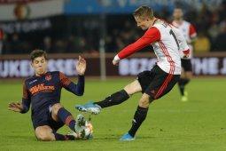 Bangkit dari ketinggalan dua gol, Feyenoord tundukkan RKC Waalwijk