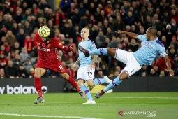 Liverpool bungkam Manchester City dengan skor meyakinkan 3-1