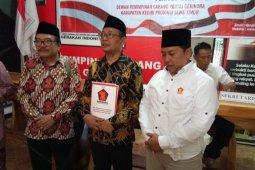 Mujahid-Eko ambil formulir bakal calon Pilkada Kediri di Gerindra