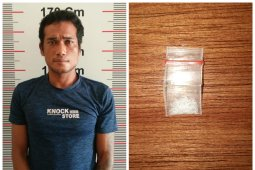 Polisi Pangkalan Susu Langkat tangkap pemilik sabu-sabu