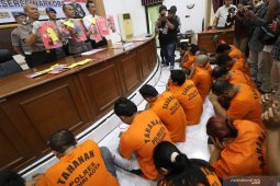 Ungkap kasus narkoba di Kediri