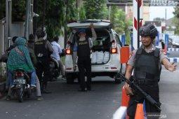 Peningkatan pengamanan di Polda Jawa Timur