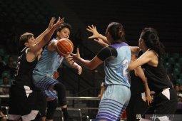 Uji coba Timnas basket putri lawan Taiwan Power