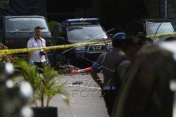 Bom bunuh diri, Polisi sterilisasi kawasan Polrestabes Medan