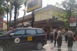 Ledakan bom di Polrestabes Medan, ini kata Gojek