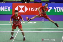 Bulu tangkis beregu putra berhasil meraih medali emas setelah kalahkan Malaysia