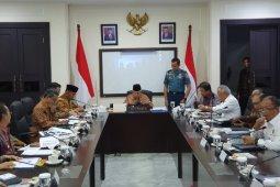 Wapres Ma'ruf pimpin rapat rekonstruksi Palu dan Lombok