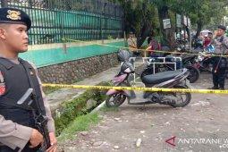 Ada peluru kaliber 22 di sepeda motor terduga pelaku bom Medan