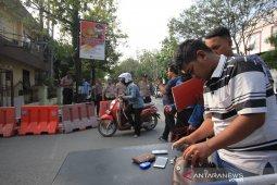Sehari pascaledakan bom Medan, pelayanan di Polrestabes kembali dibuka