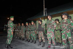 Kodim 1304/Gorontalo gencarkan patroli malam