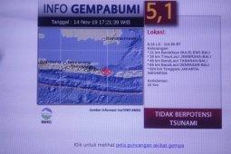 Gempa Magnitudo 4,4 guncang Buleleng, Bali
