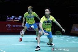 Kevin/Marcus dihentikan wakil Jepang di perempat final Hong Kong Open